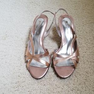 Naturalizer Rose Gold dress shoes in heels